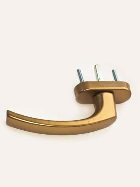 Ручка оконная металлическая BLAUGELB F4 (бронза) штифт 37мм - photo 5