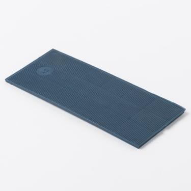 Рихтовочная пластина 40*100*2 мм (синяя) 50 шт.