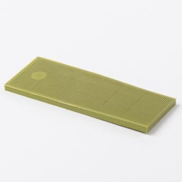 Рихтовочная пластина 38*100*4 мм (желтая) 50 шт.