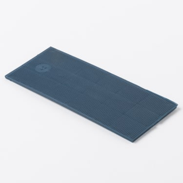 Рихтовочная пластина 42*100*2 мм (синяя) 50 шт.