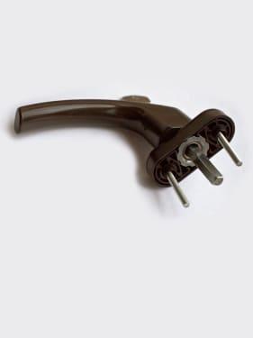Ручка оконная с винтами BLAUGELB штифт 43мм (коричневая) с ключом - photo 5