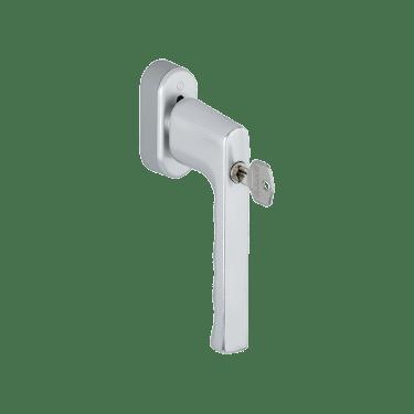 Ручка оконная с ключом Hoppe HAMBURG, 32-42 мм SecuForte®,серебристая - photo 2