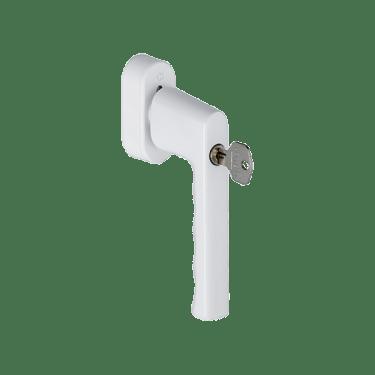 Hoppe HAMBURG SecuForte®, Ручка оконная с ключом, 32-42 мм, белая - photo 5