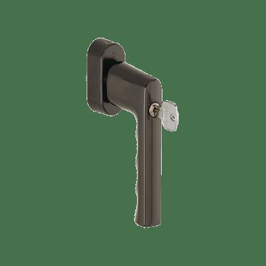 Ручка оконная с ключом Hoppe HAMBURG, 32-42 мм SecuForte®, коричневая - photo 5