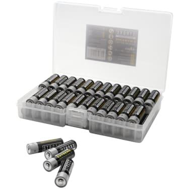 Алкалиновые (щелочные) батарейки AA / LR6 / 15A, 48 шт. в пластиковой коробке, STROXX - photo 3