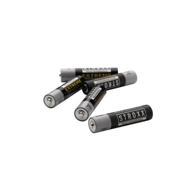 Алкалиновые (щелочные) батарейки AAA / LR03 / 24A,4 шт. в блистере, STROXX