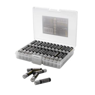 Алкалиновые батарейки AAA / LR03 / 24A, 48 шт. в пластиковой коробке, STROXX