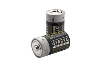 Алкалиновые (щелочные) батарейки D / LR20 / 13A, 2 шт. в блистере, STROXX