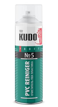 Очиститель ПВХ пластика KUDO PROFF PVC Reiniger №5