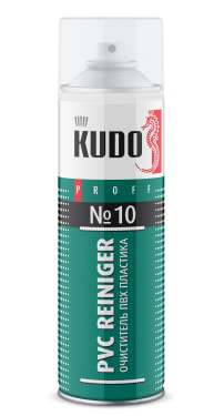 Очиститель ПВХ пластика KUDO PROFF PVC Reiniger №10