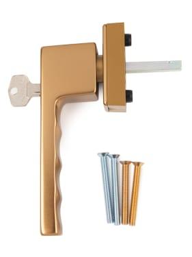 Ручка оконная с ключом Hoppe TOULON SecuForte®, штифт 32-42 мм., бронза - photo 4
