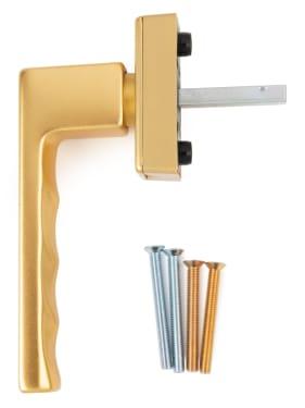 Ручка оконная Hoppe TOULON SecuForte®, штифт 32-42 мм, золото - photo 4