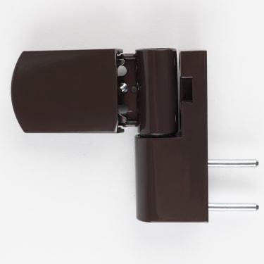 Петля дверная STROXX ST23 коричневая, нахлест 14-21 мм.