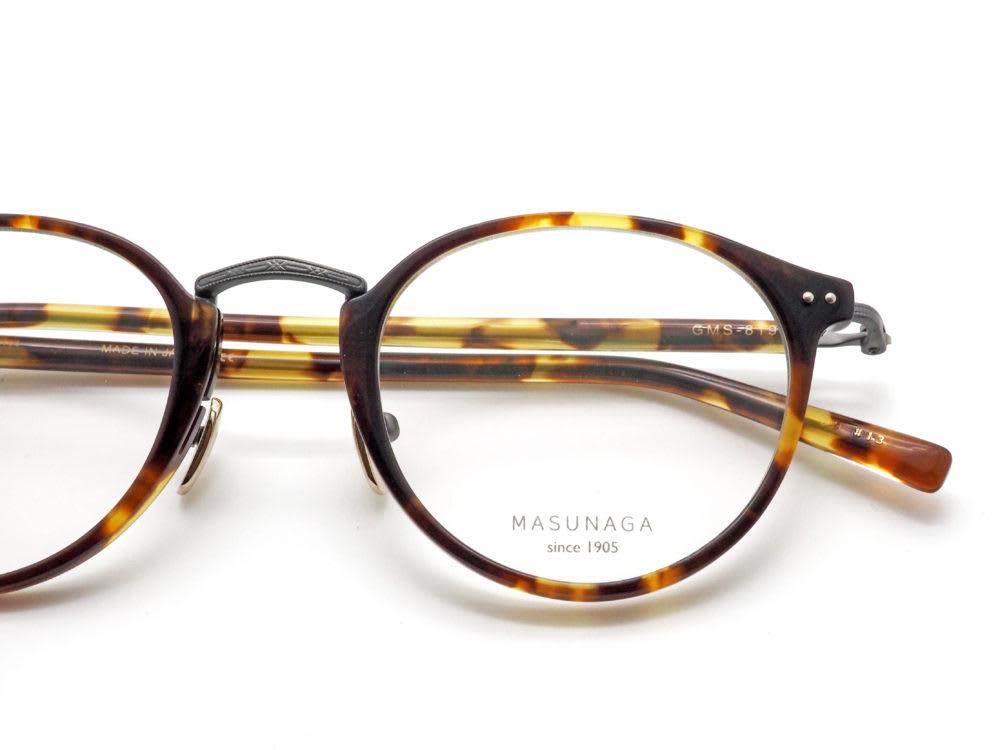 MASUNAGA since1905, GMS-819 眼鏡工房久保田