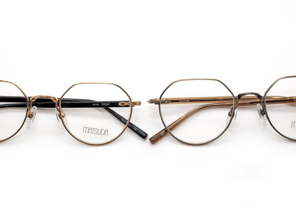 新作紹介 MATSUDA eyewear, M3108