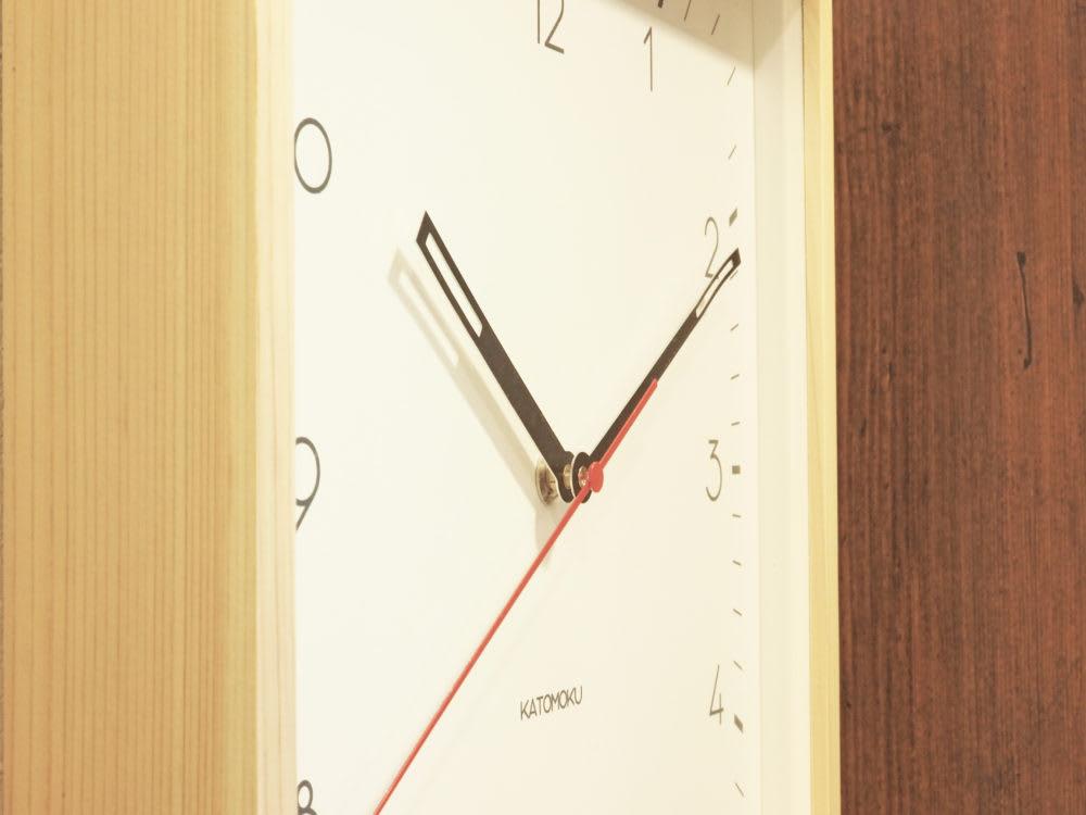 KATOMOKU, muku square clock3 時計工房久保田