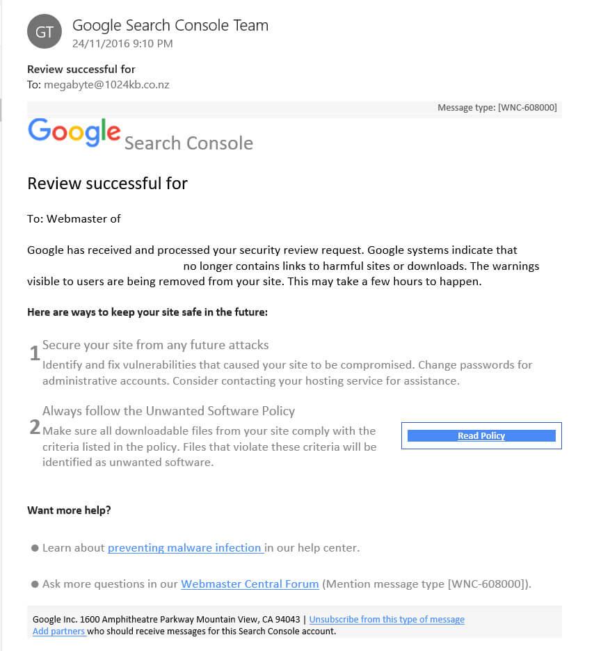 Google Surrenders