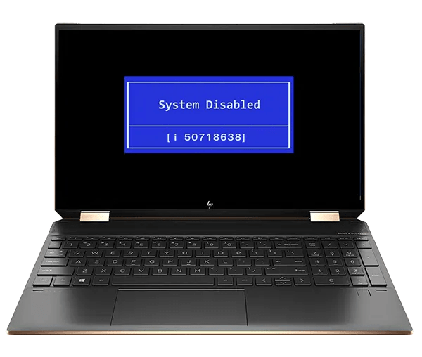 HP Spectre - BIOS pwnd