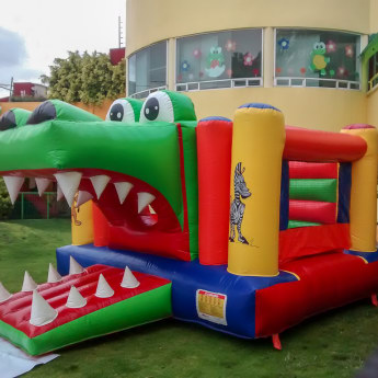 Inflable Cocodrilo