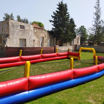 Cancha Fútbol Inflable
