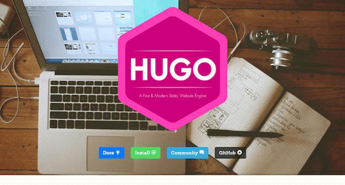 静的サイトジェネレータ「Hugo」でシンプルブログサイトを構築する