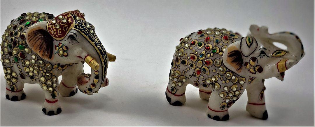 Ornamental Ceremonial Elephants