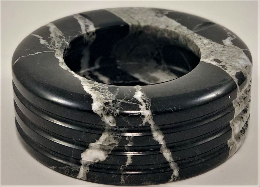 Rare Onyx Stone Ashtray