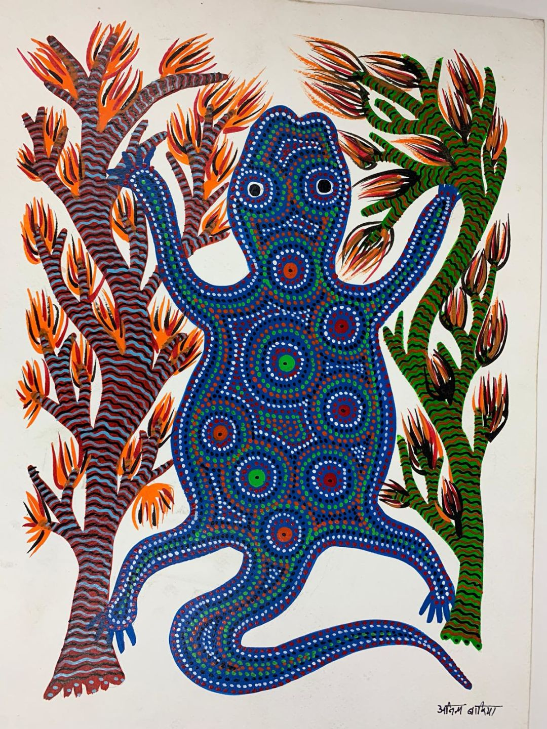 Gond  Tribal Paintings