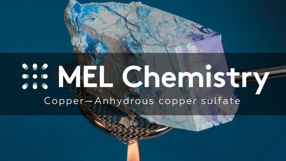 Anhydrous copper sulfate - MEL Chemistry
