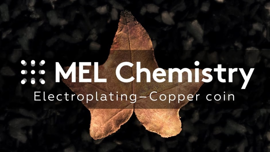 Copper coin - MEL Chemistry