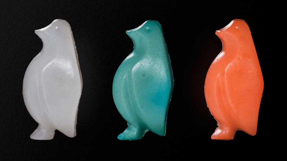 Le pingouin d'amidon