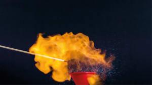 La mousse de feu