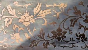 Цинковая роспись