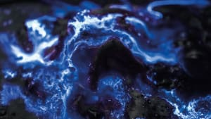 Luminol volcano