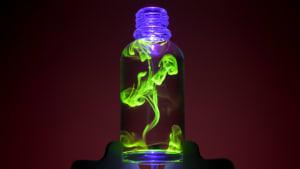 Liquid nightlight