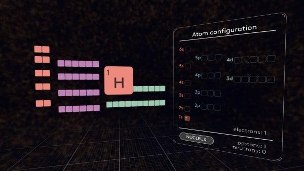 Periodic Table MEL Chemistry VR