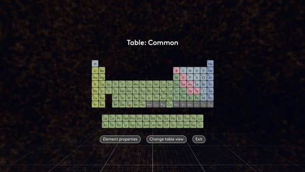 Interactive periodic table mel chemistry vr transcript urtaz Choice Image