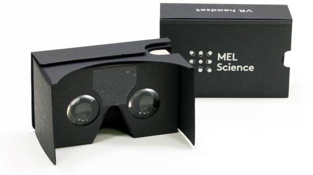 Image of a vr glasses