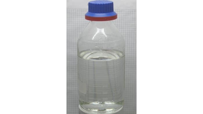 Sample Of Hydrochloric Acid In A Bottle Wikimedia