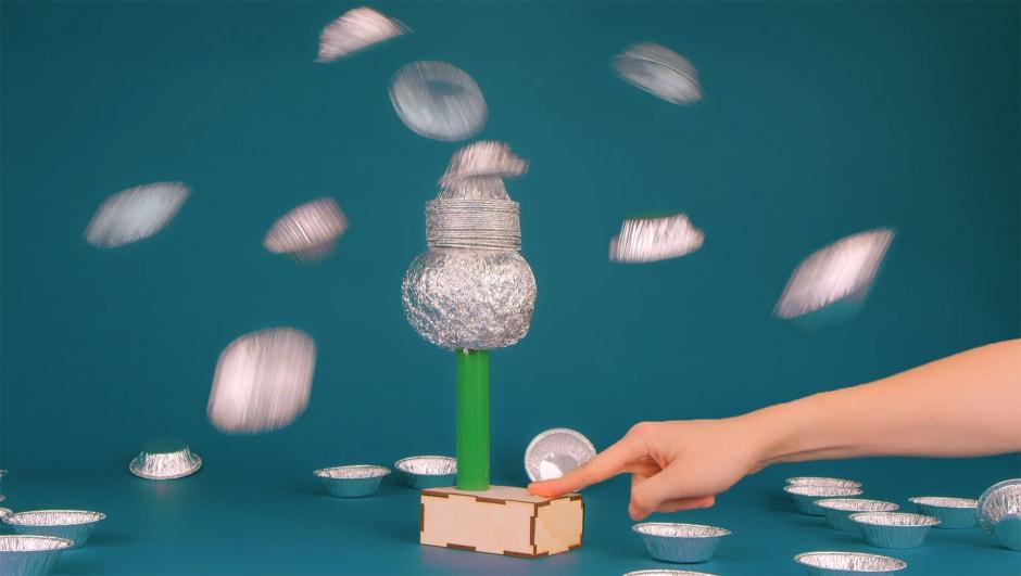 Electrostatic levitation