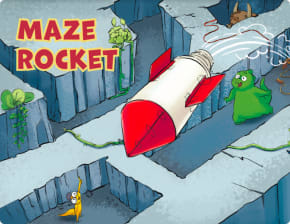 Maze rocket