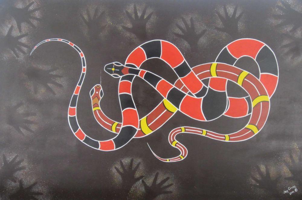 Schlangen von Joy Cross fotografiert im Tidbinbilla Sanctuary