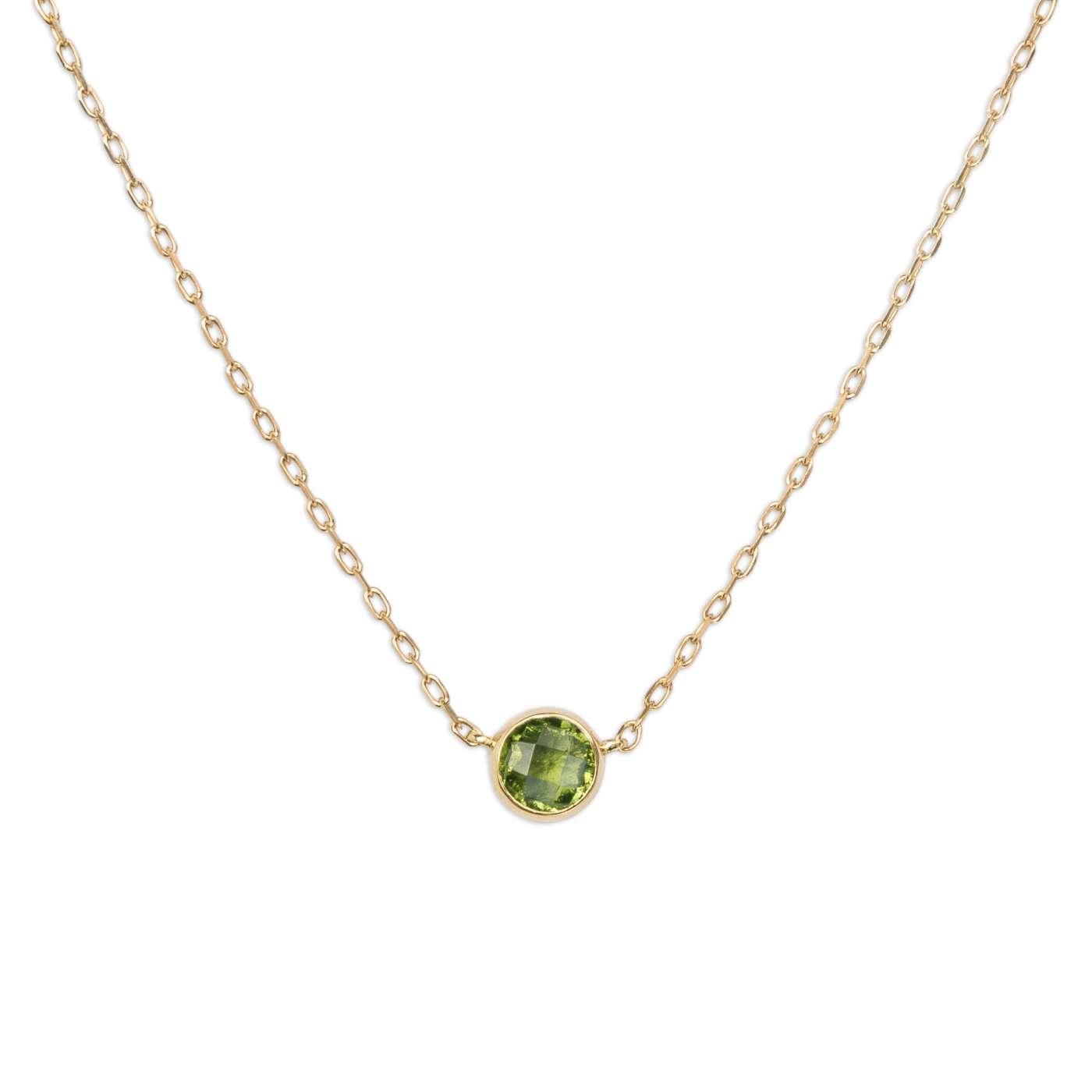 Zlatý náhrdelník svltavínem