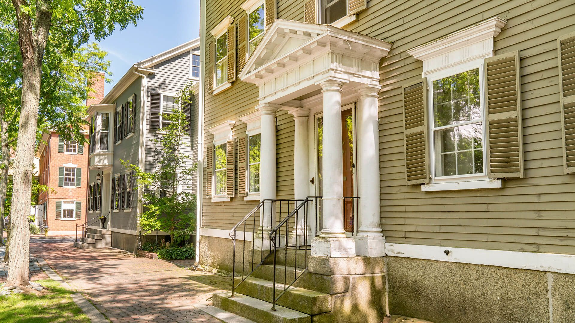 Historic Homes In Salem, Massachusetts