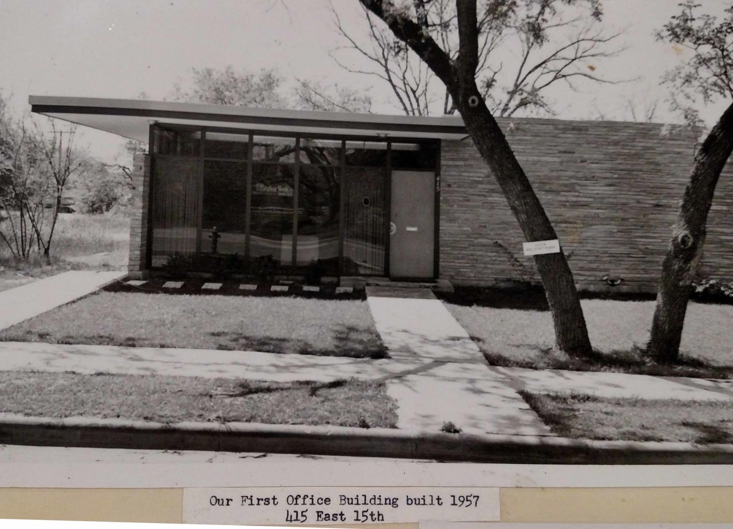 First ABoR Office Building 1957