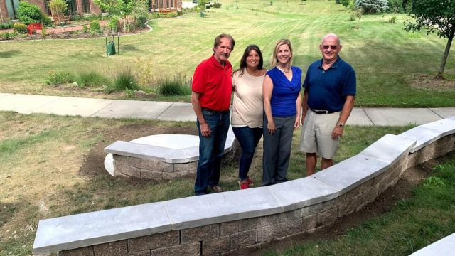 New gathering space at Community Cancer Center in Normal
