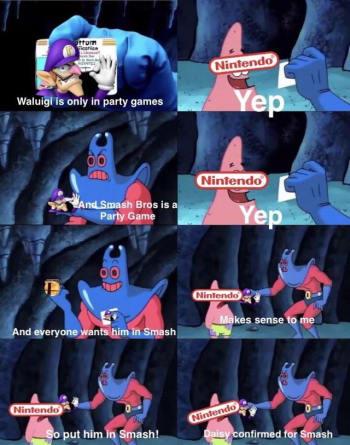 Waluigi meme