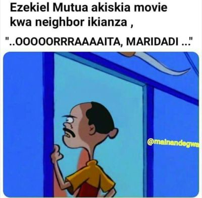 Ezekiel Mutua bans DJ Afro movies