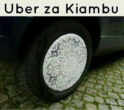 Uber za kiambu jameni