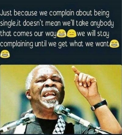 We will complain some more